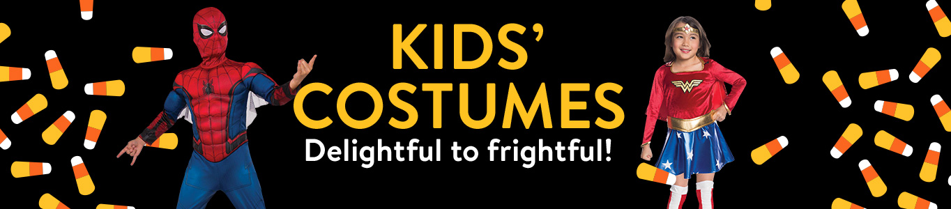 Kids' costumes: Delightful to frightful!