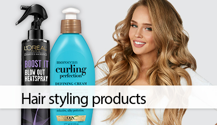 Shop hairstyling products