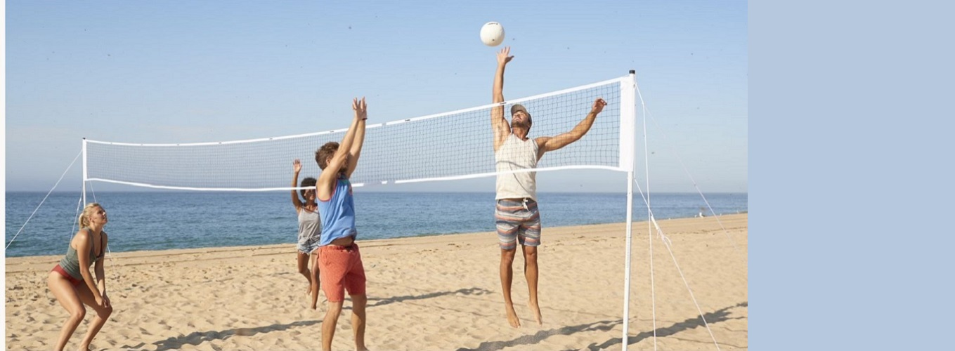 Summer Fun with Franklin. Shop Franklin's assortment of volleyball gear.