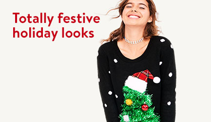 Totally festive holiday looks