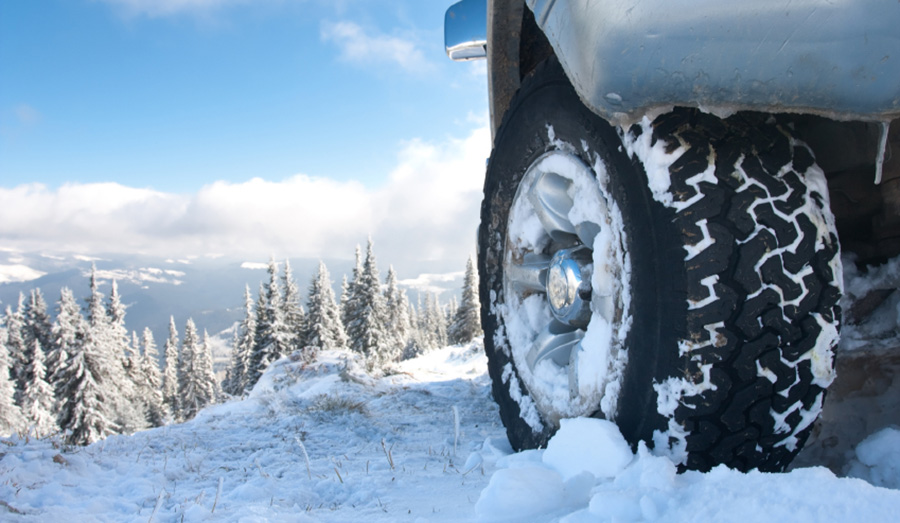 Winter tires will give you the traction you need during those snowy months