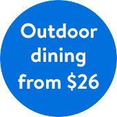 Outdoor Dining From $26 at Walmart