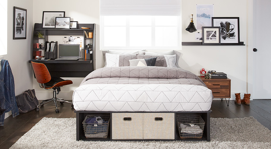 Work Hard Sleep Well Get Creative With Small Es Your Bedroom Can Double