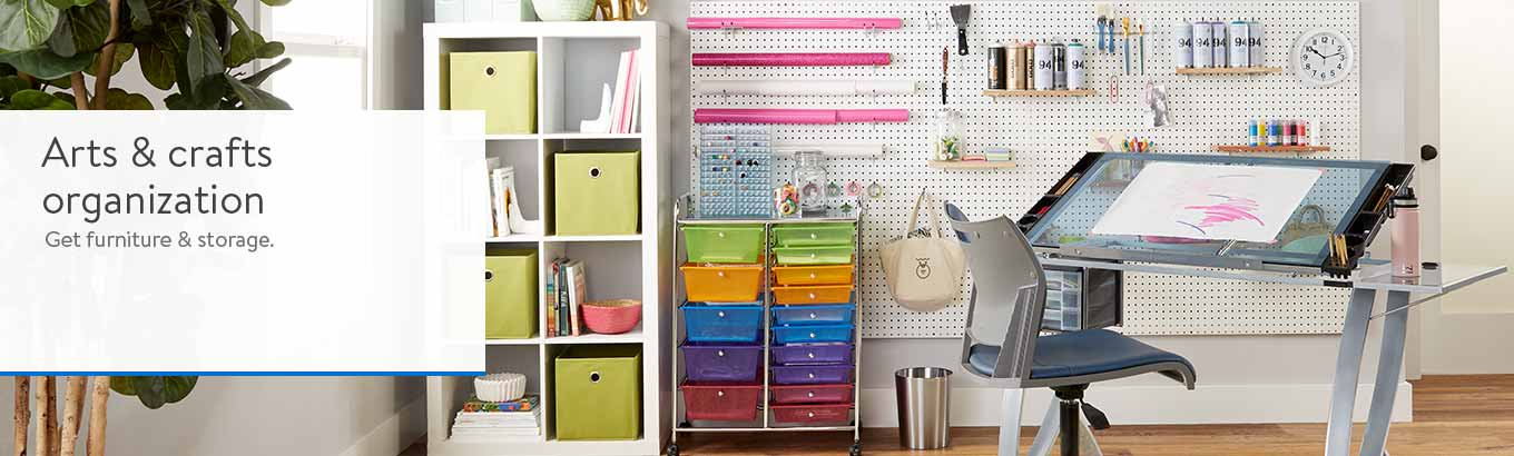 Arts Crafts Furniture And Storage Walmart Com