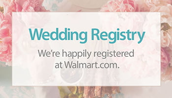 How to create your Walmart baby registry or wedding registry ...