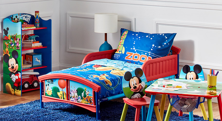 Mickey's Magic. Create a room any toddler will adore.