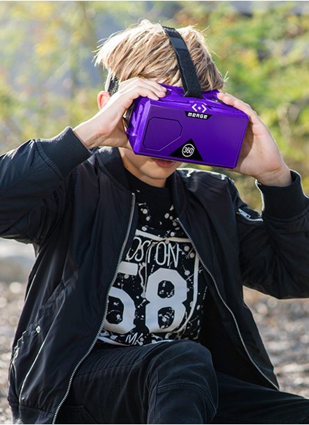4b7c6c0df9ce Little adventurers will love experiencing the immersive 3-D gaming action  of virtual reality.
