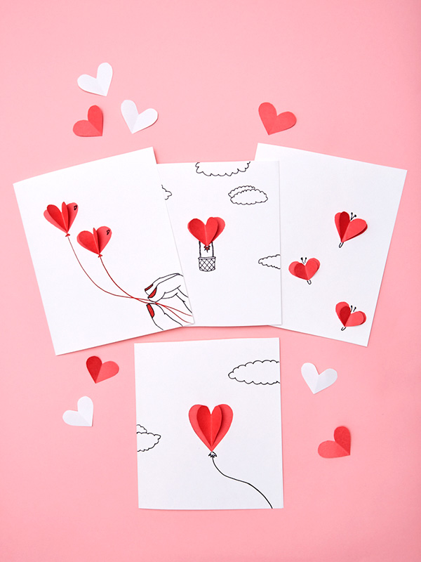 DIY Valentines Day cards for your sweetheart Walmart – Valentines Day Cards Craft