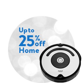 Up to 25% off Home: Home Deals