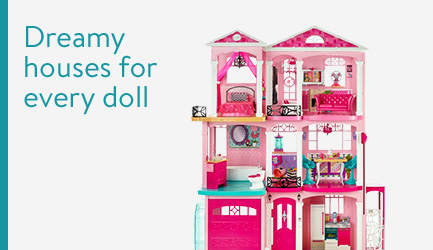 Dreamy houses for every doll