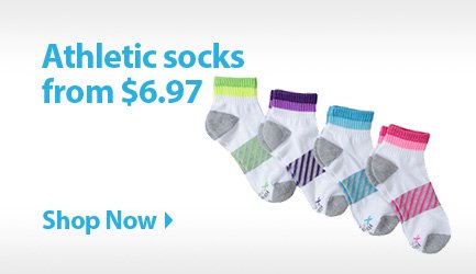 Athletic socks