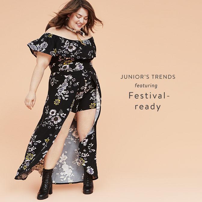 822637e46617fd Junior Plus  Trends featuring Festival-ready