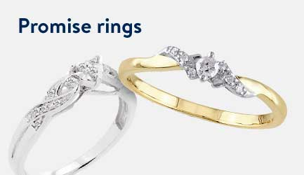 Shop promise rings.