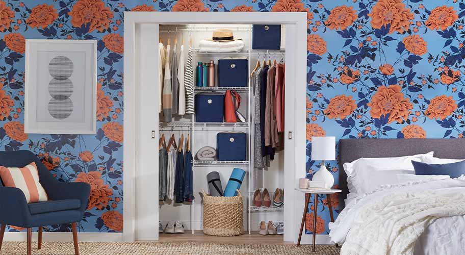 Organize and optimize. Make the most of your closet space with storage and shelving. Shop now.