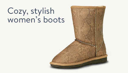 Cozy, stylish women's boots