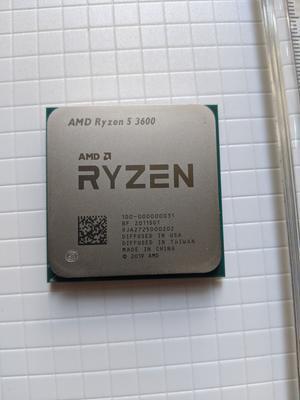 Amd Ryzen 5 3600 6 Core 12 Thread 4 2 Ghz Am4 Processor Walmart Com Walmart Com