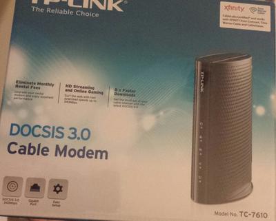 Tp-link Docsis 3 0 Cable Modem Tc-7610