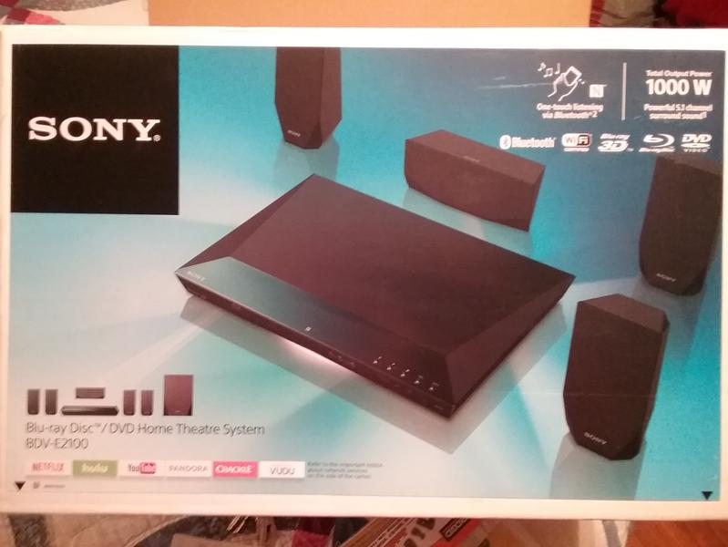 Sony BDV-E2100/CA Home Theatre Windows 8 X64
