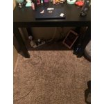 Ameriwood Parsons Desk With Drawer Espresso Finish