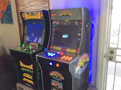 Street Fighter 2 Arcade Machine Arcade1up 4ft Walmart Com