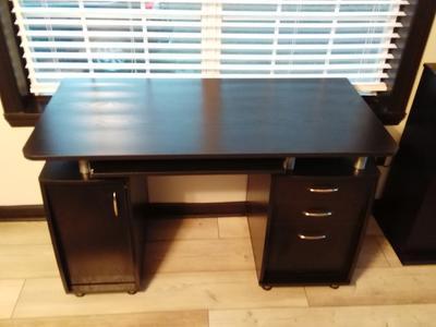 Techni Mobili Super Storage Computer Desk Espresso Walmart Com