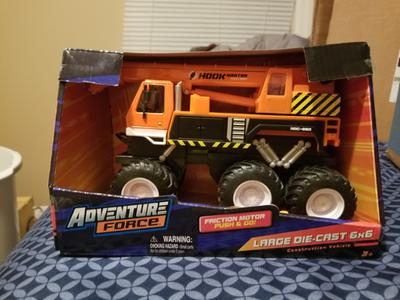 Baby Gyms & Play Mats Adventure Force Mini Die-cast Construction Vehicles Set With Bonus Fire Truck