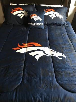 Nfl Denver Broncos Bed In A Bag, Denver Broncos Bedding Queen