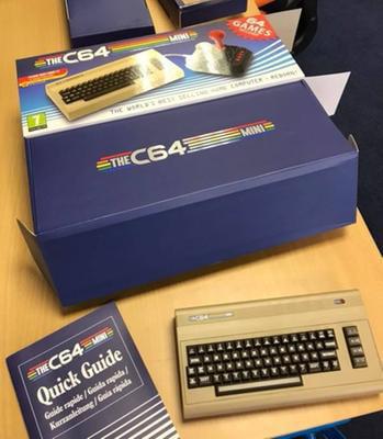 Retro Games LTD, THEC64 Mini Computer, Gray, RGL001 - Walmart com