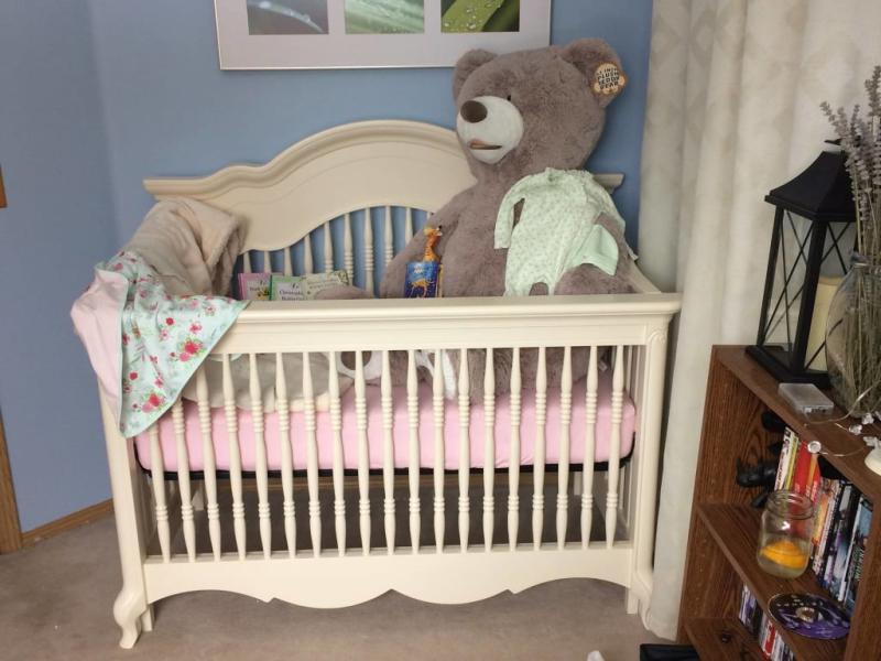 Suite Bebe Julia Lifetime 4 In 1 Crib