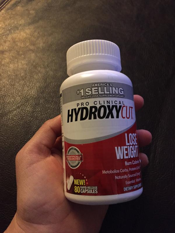 Hydroxycut Pro Clinical Caffeine Free Weight Loss Pills 60 Ct