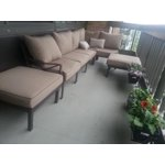 Mainstays Sandhill 7 Piece Outdoor Sofa Sectional Set