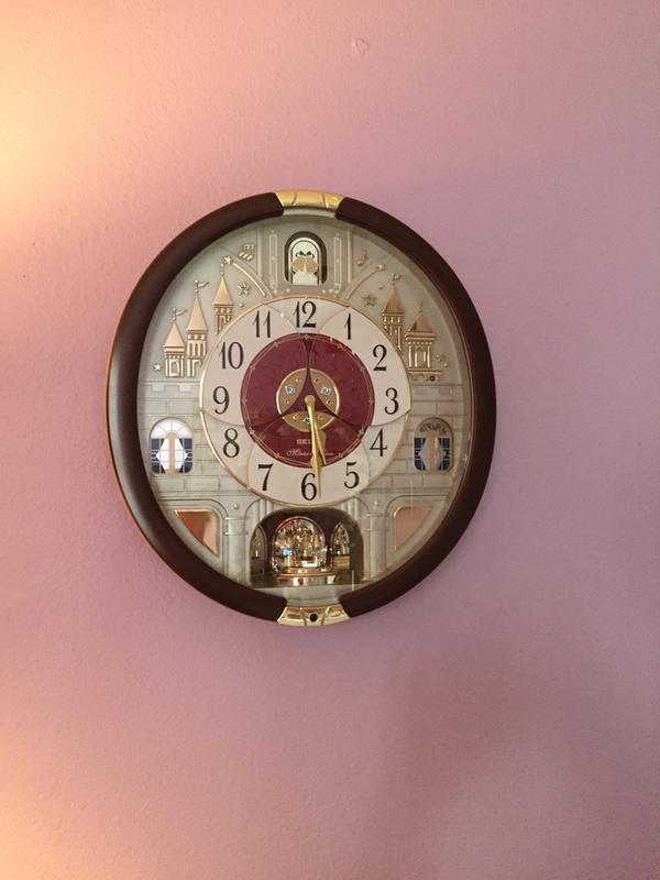 0897b5d4e Seiko Special Collector's Edition Melodies In Motion Clock w/ Swarovski  Crystals - Walmart.com