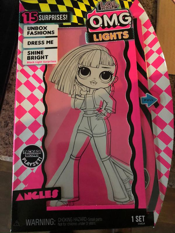 L O L Surprise O M G Lights Angles Fashion Doll With 15 Surprises Walmart Com Walmart Com