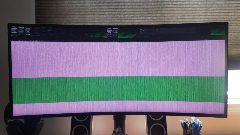 LG 34 inch 21:9 UltraGear QHD Curved Nano IPS Gaming Monitor with NVIDIA  G-SYNC, 34GK950G-B