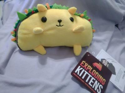 Exploding Kittens - Collectible Plush - Series 1 - Rainbow-Ralphing Cat