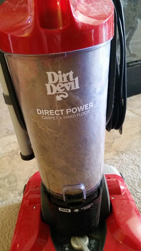Dirt Devil Direct Power Upright Vacuum Cleaner, UD70164