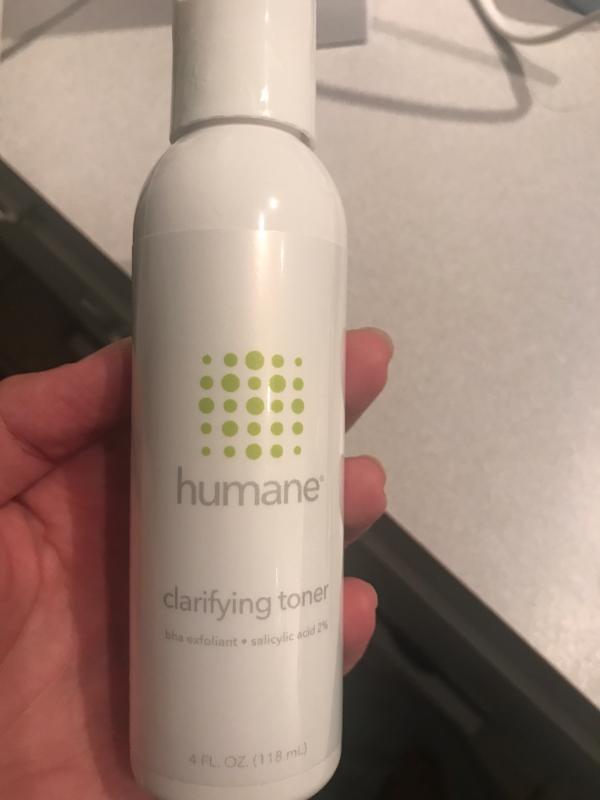 Humane Clarifying Toner Bha Salicylic Acid 2 Pore Minimizer