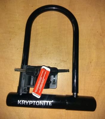 U-Lock dia.12mm 165x320mm black BTA antitheft