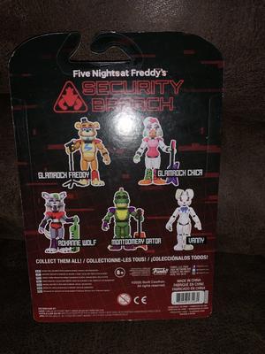 Funko CINQ NIGHTS AT FREDDY/'S Security Breach Pizza Plex glamrock Freddy Figure