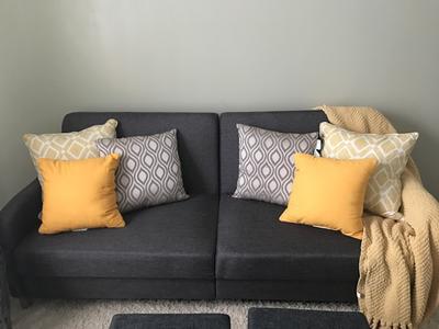 Marvelous Dhp Jasper Coil Sofa Bed Gray Walmart Com Andrewgaddart Wooden Chair Designs For Living Room Andrewgaddartcom