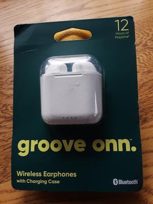 Onn White In Ear True Wireless Earbuds With Charging Case Walmart Com Walmart Com
