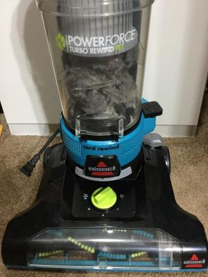 Bissell Powerforce Helix Turbo Rewind Bagless Vacuum Cleaner 1797 Walmart Com Walmart Com