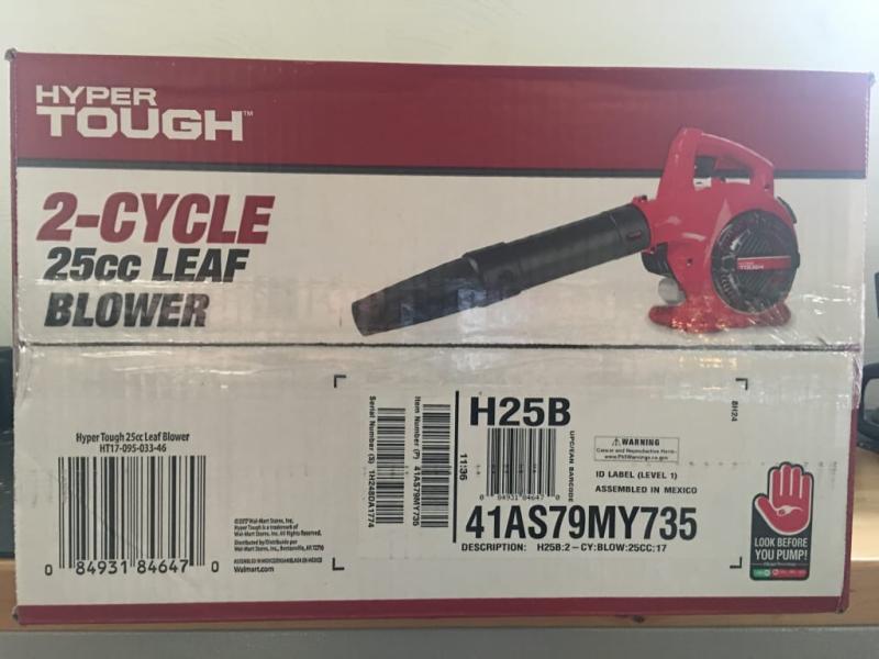 Hyper Tough 180 MPH/ 400 CFM 2-Cycle 25cc Gas Blower
