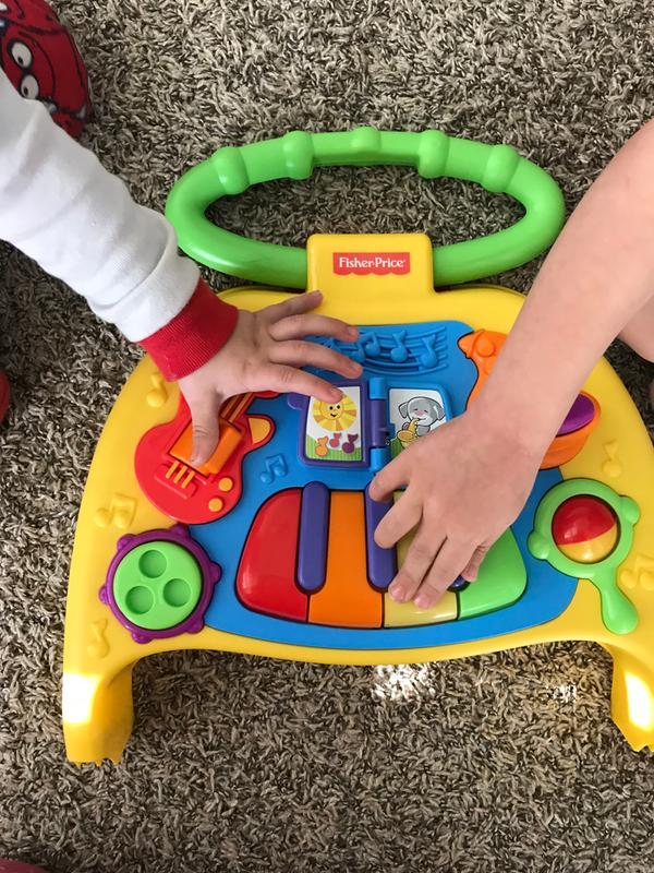 Fisher-Price Brilliant Basics 2-in-1 Activity Friends Mobile Brand New /& Boxed
