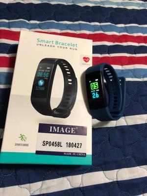 IMAGE Color Screen Bluetooth Fitness Tracker Heart Rate