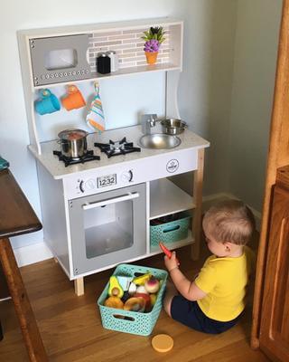Kidkraft All Time Play Kitchen With 38 Piece Accessory Play Set Walmart Com Walmart Com
