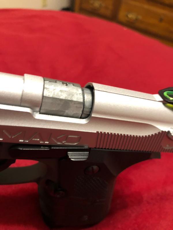 Crosman CM9B CO2 Powered, Semi Auto Blowback BB Air Pistol