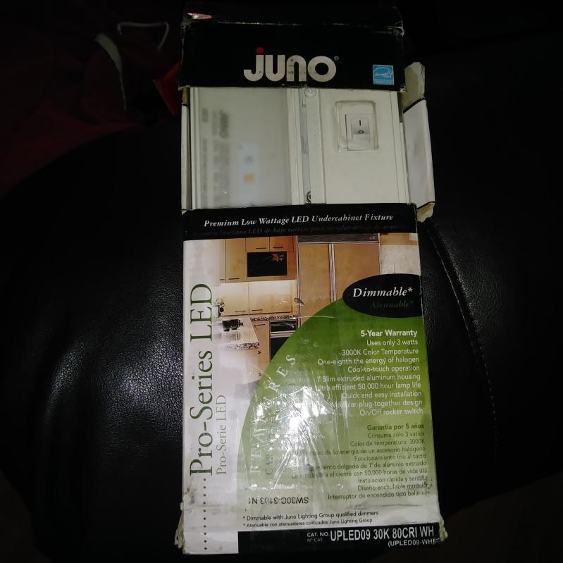 Juno Lighting Upled09 Wh Pro Series