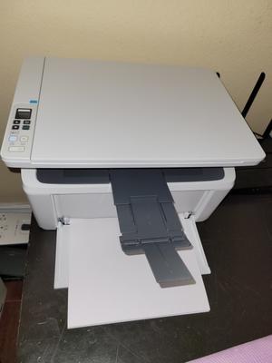 Hp Laserjet Pro M28w Wireless All In One Monochrome Laser Printer Walmart Com Walmart Com