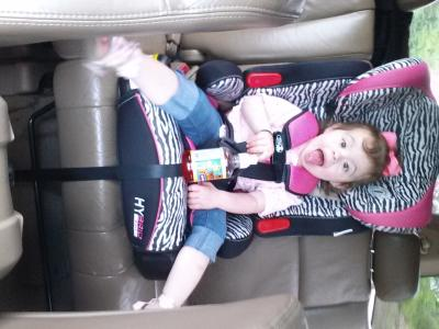 Baby Trend Hybrid 3 In 1 Harness Booster Car Seat Ozone